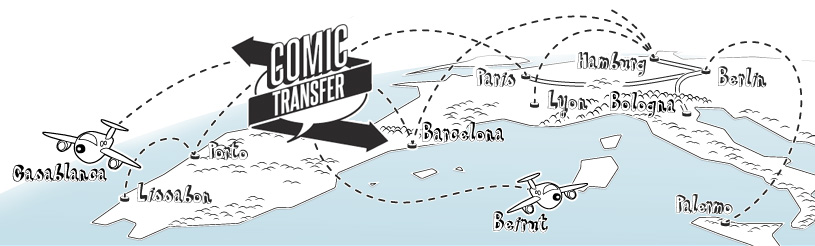 Comic Transfer Grafik